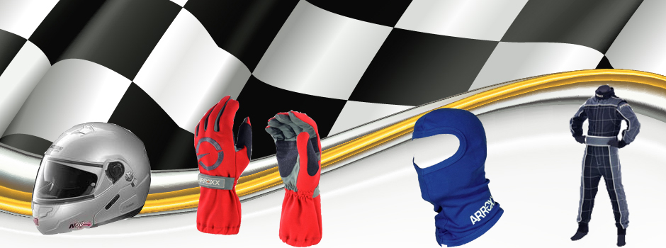 A Range of Karting Items For Sale