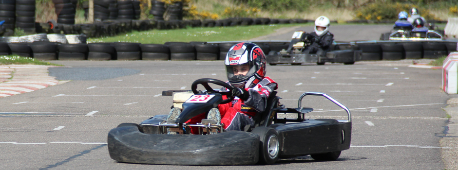 Kids Klub at Anglia Karting