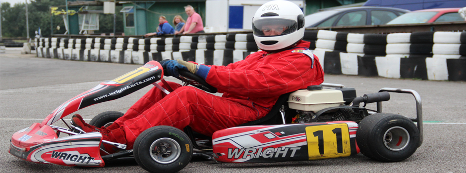 Lucky enough to own your Go Kart - then bring it down to our track for some valuable drive time