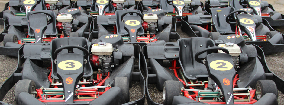 Our Biz karts are ready to give you your first experience of karting