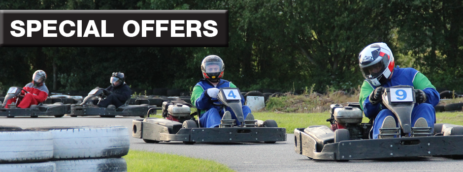 Shake off the winter blues with a team endurance race at Anglia Karting