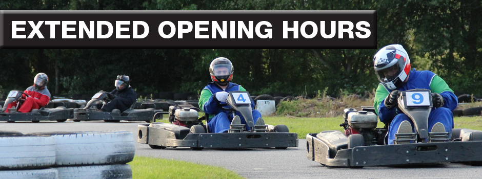 Here at Anglia Karting we love the longer days - It leaves us more time for racing!!